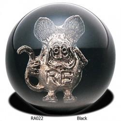 Pommeau de levier de vitesses Rat Fink - Noir