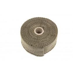 Bande thermocollante en fibre de verre de cuivrée