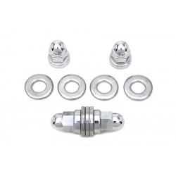 Boulons et rondelles de fixation du moteur supérieur
